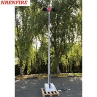 Buy cheap 4x120W LED lamps mounted roof mast light 4.5m pneumatic telescopic mast, vehicle from wholesalers