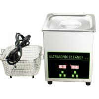 Buy cheap Table Top Ultrasonic Cleaner Machinery For Jewelry / Machine Parts / Watch product