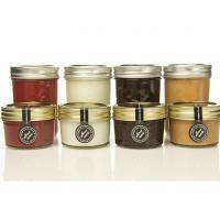 Buy cheap Gift 100ml Transparent Glass Storage Jars With Lids For Honey Jam Spicy product