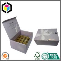 Buy cheap Glossy CMYK Color Printing Corrugated Cardboard Packaging Box with Dividers product