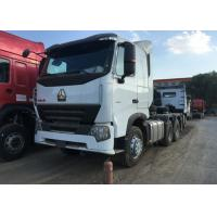 Buy cheap Sinotruk HOWO A7 Prime Mover Truck Euro 2 Emission 6x4 Driving Type product