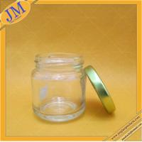 3oz 90ml glass jar with lug cap