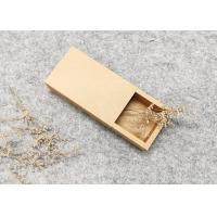 Buy cheap Brown Kraft Box Packing,Folding Drawer Paper Box,Eco-Friendly/Printing product