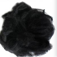 Buy cheap Dope Dyed Recycled Polyester Staple Fiber Super Absorption For Geotextile product