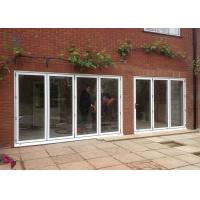 Buy cheap Luxury Aluminium Folding Glass Balcony Door for House Large Lighting Area product