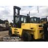 Hyster 16ton Used Forklift , Diesel Hyster H16.00XM-6 16t Forklift for sale