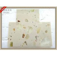 Buy cheap Beige Pearl Artificial Stone kitchen counter product