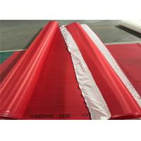 Buy cheap Red / White Paper Machine Clothing Polyester Screen Mesh Insert Seam Type product