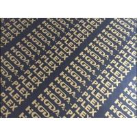 Buy cheap Finger Joint Core Coated Plywood Sheets 1220*2440mm Size Low Moisture Content product