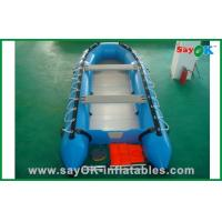 Buy cheap 3 Person Deep-V Fiberglass PVC Inflatable Boats For Summer Water Fun product