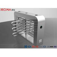 Buy cheap Security Waist Height Turnstiles Entrance Stepping Driver Motor RS485 Communication Interface product