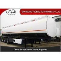 4 Axles 60000 Liters Fuel tanker semi trailers Mobile tankers for Oil transporting