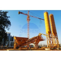 Buy cheap JS1500 Forced Type Mixer 2400L Portable Concrete Mixing Plant product