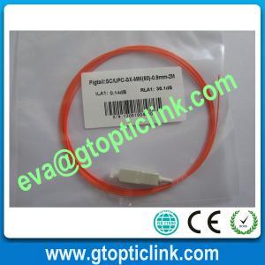SC/PC Multimode Simplex Fiber Patch Cord/Pigtail