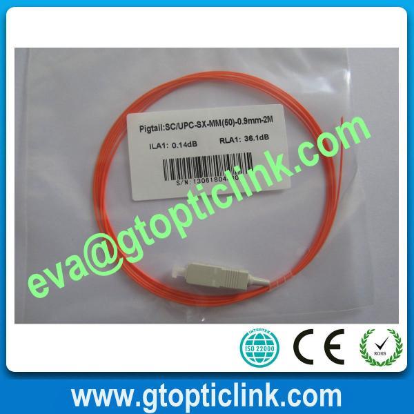 Quality SC/PC Multimode Simplex Fiber Patch Cord/Pigtail for sale