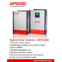 Buy cheap Pure Sine Wave 24V / 48VDC Solar Power Inverters for Home / Office , 12V MPPT Controller from Wholesalers