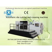 Buy cheap Automatic Die Cutting Corrugated Carton Packaging Cardboard Box Making Machine product