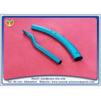 Aluminum Alloy Blue metal anodizing service Aluminum Bending Tube For Buggies