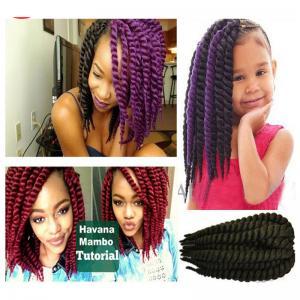 Buy cheap 12 inches Synthetic Hair Crochet Braids 2X Jumbo Senegalese Twist Havana Mambo Twist Style product
