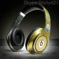China Beats By Dre Studio Maserati Champagne Headphones Made In China By grglasers on sale