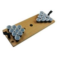 Buy cheap Plastic Wood Mini Beer Pong Table Drinking Game Table Portable Game Table, wood and plastic material, custom logo ok product
