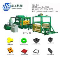 China QFT6-20 High speed with reasonable price brick making machine in China on sale