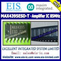 China MAX4395ESD-T - MAXIM - IC OP AMP 85MHZ - sales009@eis-ic.com / sales009@eis-limited.com on sale