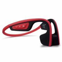 China Wireless Bone Conduction Bluetooth Headset Waterproof Stereo Neck-strap Headphone  NFC Hands-free Earphone on sale