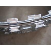 Buy cheap Professional Hot Dipped Galvanized Razor Wire Fencing , Security Barbed Wire Edging product