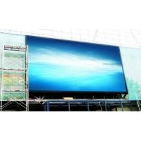 China Ultra Thin P10 Full Color Outdoor LED Display , Advertising High Resolution LED Screen on sale