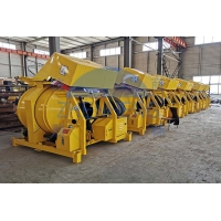 Buy cheap 12 - 14m³ / H Diesel Construction Equipment, 22hp Small Batch JZR500 Diesel Concrete Mixer product