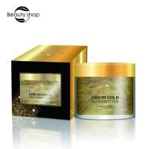 Disposable Natural Skin Care Face Mask , 24k Gold Collagen Face Mask