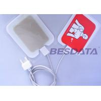 Buy cheap Self Adhesive AED Defibrillator Pads / Pediatric Defibrillation Pads For Training product