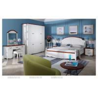 Modern furniture white color mediterranean style bedroom for Mediterranean style bedroom furniture