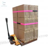Buy cheap Colorful Hook And Loop Cinch Straps Size Customized For Cargo Packing product