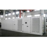 Buy cheap 800kw container power cummins 1000kva diesel generator product