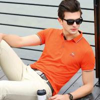 Buy cheap 2019 Men's New Latest Design High Quality Short Sleeve Polo Shirt with Emboridery product