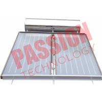 Buy cheap Pressurized Flat Plate Solar Water Heater Rooftop Intelligent Controller product