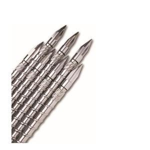 Buy cheap Plastic Single Screw Moulding Machine Bimetallic Twin Screw For Injection product