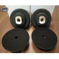 """Buy cheap 3"""" , 4"""" , 5"""" Rubber Granite Polishing Pads Holder , Black Color Diamond from wholesalers"""