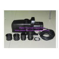 China Plastic Diving Submersible Pond Pump Garden Fountain Water Pump Spray Head 12 Meter on sale