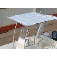 Buy cheap Stainless Steel Inflatable Boat Accessories Anti - UV Fabric Fixed Boat Bimini Top product