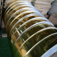 Buy cheap Gold Mill Finished Mirror Polished Aluminum Sheet For Electric Appliance Panel product