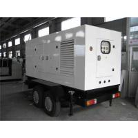 Buy cheap 50 Kva Silent Cummins Generator Set Electrical Starting Trailer Mounted Diesel Generator product
