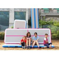 Buy cheap Cheerleading 6m Mini Inflatable Air Track Tumbling Mat Gymnastic Equipment product