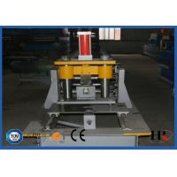 Buy cheap Metal Steel Frame Making Machine , Solar Strut Channel Roll Forming Machine product
