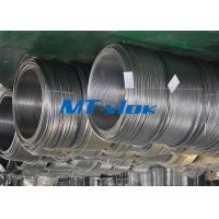 Buy cheap ASTM A269 / ASME SA269 1 / 4 Inch Cold rolled Stainless Steel Coil Pipe With 300 Series Material from Wholesalers