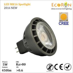 China china products cree cob led mr16 spotlight 6w ce rohs mr16 led light ra80 on sale