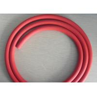 Red Groove Surface Rubber Air Hose , Recoil Air Hose  ID 3 / 16