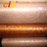 Buy cheap Colorful Bag PVC Artificial Leather Imitation Leather 1.4M Width with much Designs from wholesalers